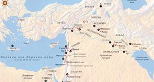 Карта Служения